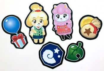 Animal Crossing Magnets