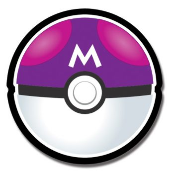 Pokemon Master Ball Magnet
